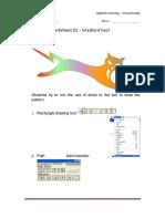 worksheet 01 - gradient tool