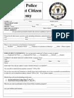 Sept Citizen Academy Application 2018 (002)