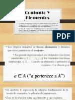 Conjunto Y Elementos