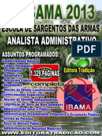 Ibama 2013 (Analista Administrativo)