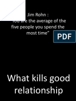 What Kills Good Relationship