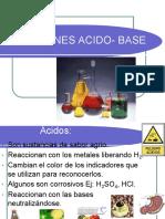 Acidos - Base