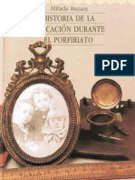 Bazant, Mílada. Historia de la educación durante el Porfirato..pdf