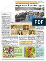 Diario Primicia - Coral UNEG 26-07-11