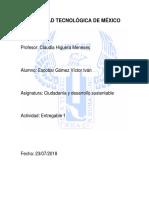 Ciudadanía y desarrollo sustentable