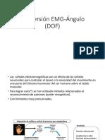 Conversion EMG a Angulo