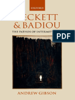 Badiou and Beckett_Gibson Andrew