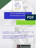 TCA en Adolescentes CLC y SerJoven