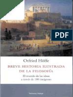 Breve Historia Ilustrada de La Filosofia O Hoffe