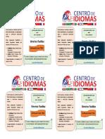 IDIOMAS IMPRIMIR 4X1