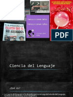 Segunda Sesión-Ciencia Del Lenguaje