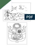 Simbolos de La Patria Dibujos
