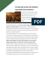 Articulo Industria Hotelera