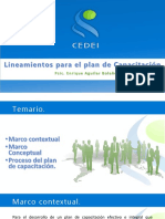 Manual de Capacitación