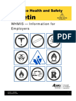 Workplace Health and Safety Bulletin