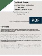 Karl Hans Welz - The Black Raven or The Threefold Coercion of Hell.pdf