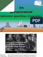 Procurement Interview Questions