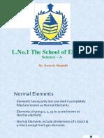 L.no. School of Elements Notes