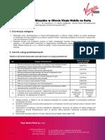 Cennik Taryfy ChceWszystko w Ofercie Virgin Mobile Na Karte Od 2017-06-15