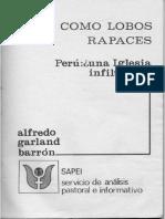 Como lobos rapaces (Alfredo Garland, 1978) - Prólogo + bibliografía
