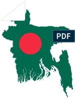 Bangladesh Map Flag