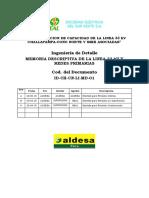 ID CH CN LI MD 01 Memoria Descriptiva Rev1