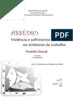 Assédio - Violência e Sofrimento No Ambiente de Trabalho