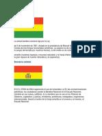 Bandera Civil de Bolvia