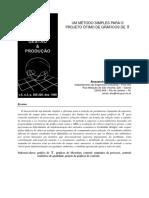 Eugenio_Santos (1998) - UM MÉTODO SIMPLES PARA O PROJETO ÓTIMO DE GRÁFICOS DE Xbar