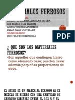Materiales Ferrosos (Mari)