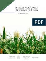 Estadisticas de la produccion agricola