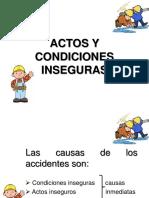 Actos y Condiciones in Segur as 1