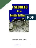 Valois David - El Secreto De La Gestion Del Tiempo.pdf
