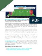Bursa Taruhan Bologna vs Calcio Padova 13 Agustus 2018