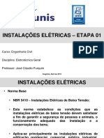 Instalações Eletricas - Etapa 01