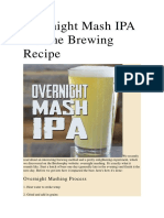 Overnight Mash IPA