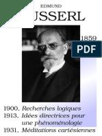 Affiche Husserl