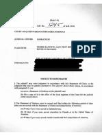 RCMP claim edit