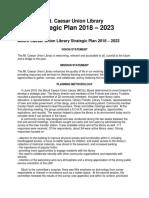 strategic plan for website