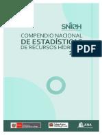 Compendio Nacional de Estadisticas de Recursos Hidricos 2016
