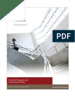 Graduate Studies in Public and International Affairs