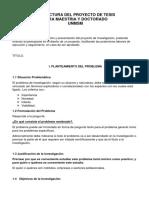 Estructura Del Proyecto de Tesis Unmsm.docx