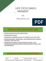 Web-life Cycle Dan E-payment