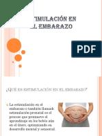 Embarazo y estimulacion