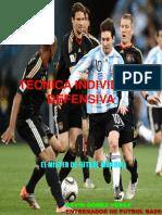Acciones Tecnicas Defensivas (El Mister de Futbol Mundial)
