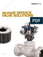 Severe Service Valve Solutions