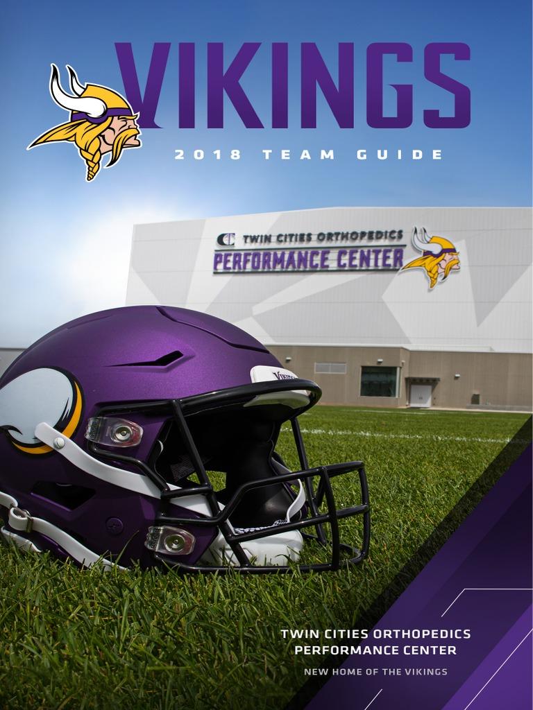 Hot 2018 Minnesota Vikings media guid3 | U.S. Bank Stadium | Minnesota  supplier