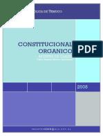 Constitucional Organico, Apuntes de Clases(2).Docx