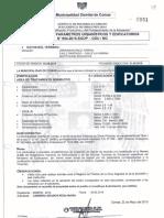11 1 Certificado de Parametros