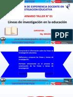 LÍNEAS DE  INVESTIGACIÓN EDUCATIVA.pptx
